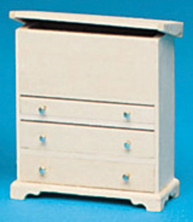 Dollhouse Miniature Chest & Drawers Kit