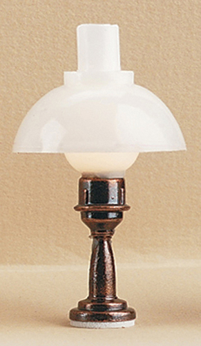 Dollhouse Miniature Hurricane Table Lamp