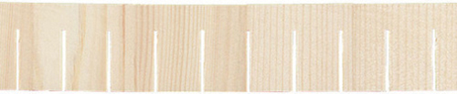 Dollhouse Miniature Square Shingle Strips, 12Pk