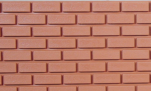 Dollhouse Miniature Brickmaster Sheets (Polystyrene) 1 Inch