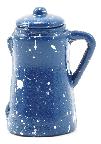 Dollhouse Miniature Blue Pitcher
