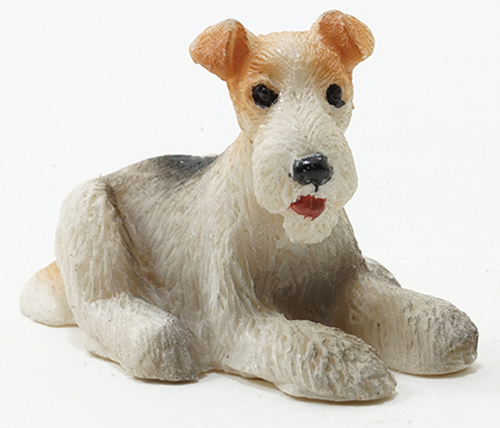 Dollhouse Miniature Airedale Terrier