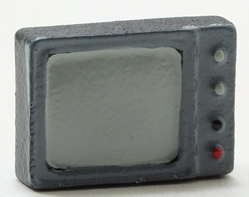 Dollhouse Miniature Small T.V.