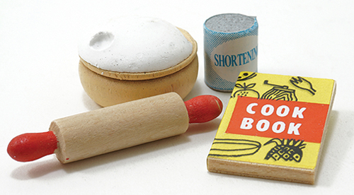 Dollhouse Miniature Baking Supplies