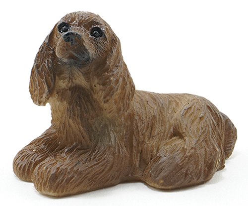 Dollhouse Miniature American Cocker Spaniel