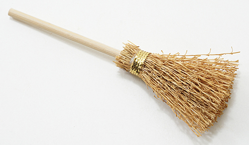 Dollhouse Miniature Broom