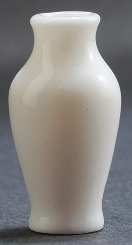Dollhouse Miniature White Vase