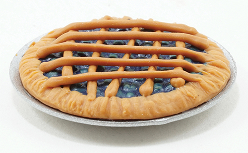 Dollhouse Miniature Blueberry Pie