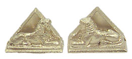Dollhouse Miniature Sphinx Bookends