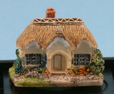Dollhouse Miniature Rose Cottage