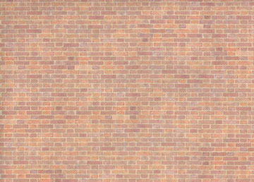 Dollhouse Miniature Wallpaper: Old Red Bricks