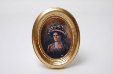 Dollhouse Miniature Small  Framed Paintings Assorted