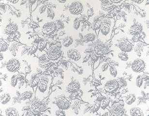 Dollhouse Miniature Wallpaper Tiffany, Gray