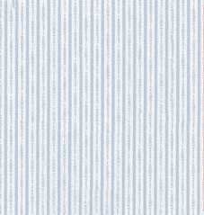 Dollhouse Miniature Wallpaper, Ogden's Stripe, Lt Blue