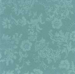 Dollhouse Miniature Wallpaper, Damask, Mint