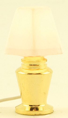 Dollhouse Miniature Bedroom Table Lamp