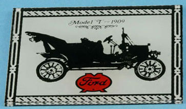 Dollhouse Miniature Ford Sign