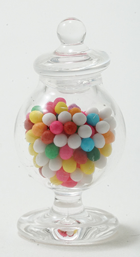 Dollhouse Miniature Jar Of Candy