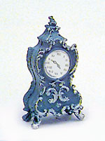 Dollhouse Miniature Fancy Clock