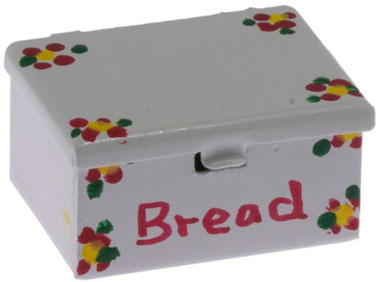 Dollhouse Miniature Bread Box