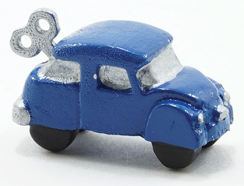 Dollhouse Miniature Wind-Up Car
