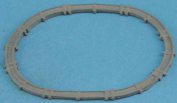 Dollhouse Miniature Train Track
