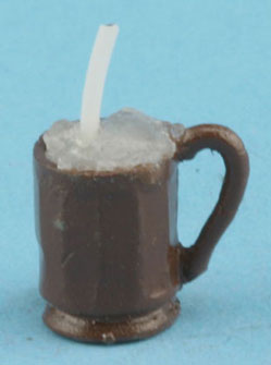 Dollhouse Miniature Mug Of Root Beer