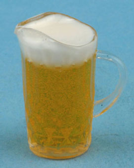 Dollhouse Miniature Pitcher Of Beer