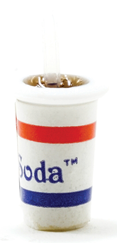 Dollhouse Miniature Cup Of Soda