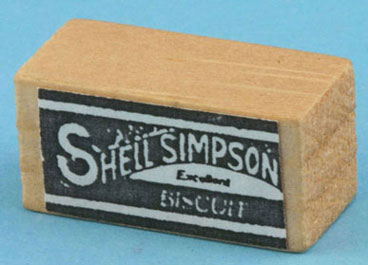 Dollhouse Miniature Biscuit Box