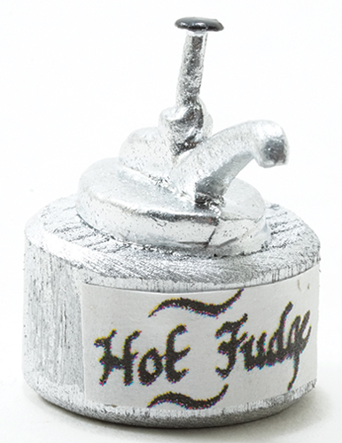 Dollhouse Miniature Hot Fudge Dispenser
