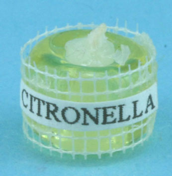 Dollhouse Miniature Citronella Candle