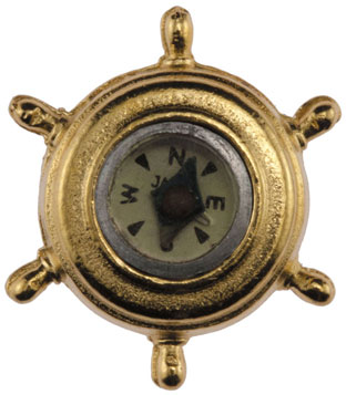 Dollhouse Miniature Compass