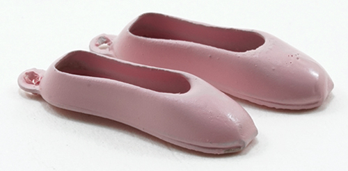 Dollhouse Miniature Ballet Slippers-Pink