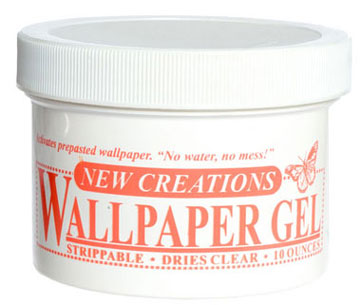 Dollhouse Miniature Wallpaper Gel, 5 Ounces
