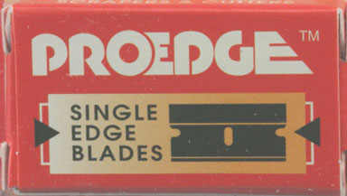 Dollhouse Miniature P#9 Carded Single Edge Blade, 10/Pk