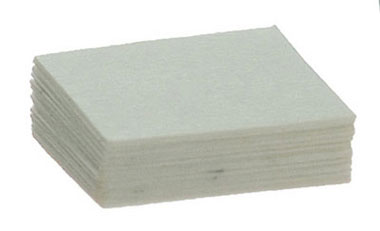 Dollhouse Miniature WHITE SQUARE PAD/24 SHTS