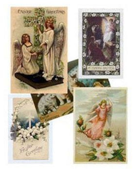 Dollhouse Miniature EASTER CARDS/5