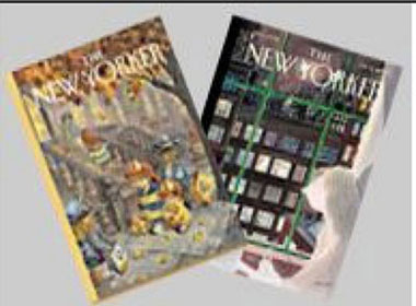 Dollhouse Miniature VINTAGE NEW YORKER MAG/2