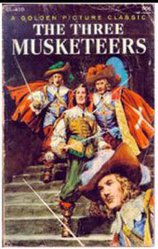 Dollhouse Miniature THE THREE MUSKETEERS