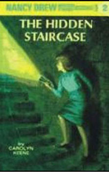 Dollhouse Miniature NANCY DREW HIDDEN STAIRCS