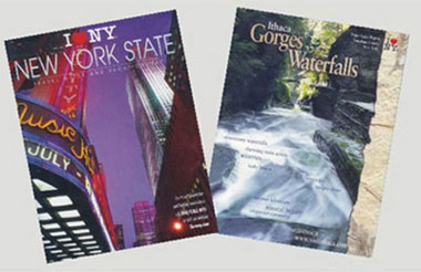 Dollhouse Miniature NEW YORK TRAVEL MAGAZ/2