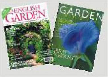 Dollhouse Miniature GARDENING MAGAZINES/2