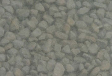 Dollhouse Miniature Coarse Ballast-Gray