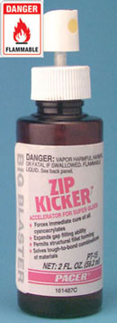 Dollhouse Miniature Pt-15, 2 oz.. Zip Kicker, 6/Pk