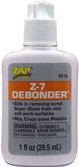 Dollhouse Miniature Pt-16, 1 oz.. Z-7 Debonder, 6/Pk