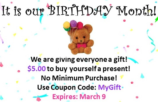 Dollhouse Miniature Coupon Discount Sale