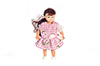 Dollhouse Miniature Girl/Brunette