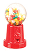 Dollhouse Miniature Table Gumball Machine, 1 In