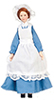 Dollhouse Miniature Country Maid